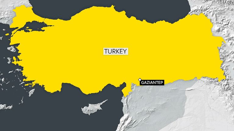 The explosion took place at a wedding in Turkey's Gaziantep