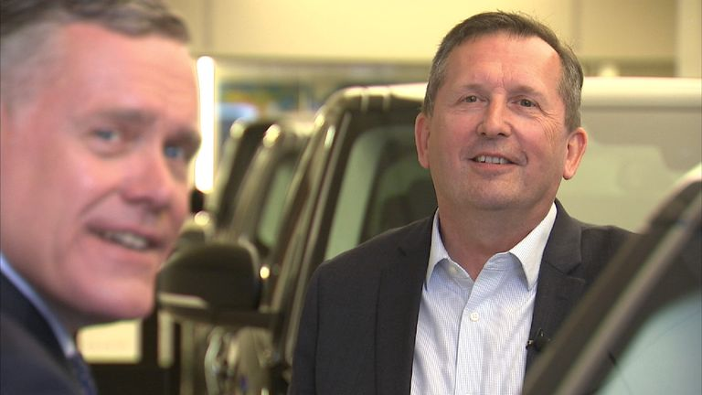 Trevor Finn, chief executive of car retail group Pendragon
