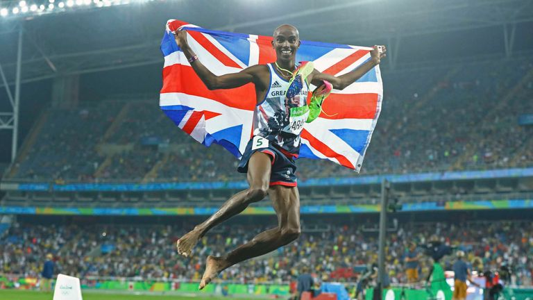Farah got his second gold medal of the Rio Olympics with a win in the 5,000m