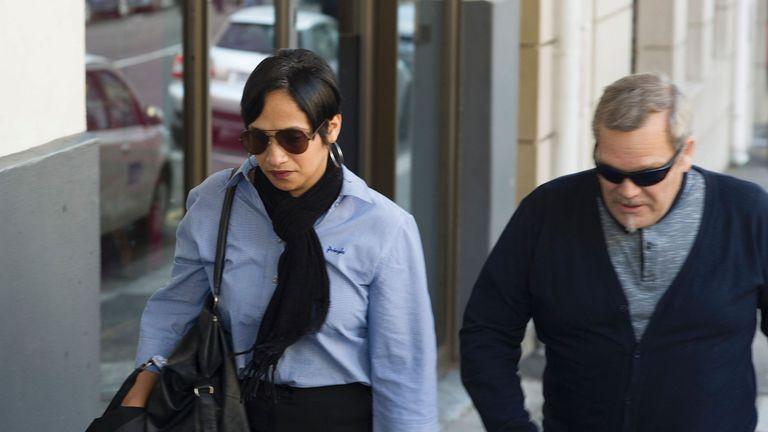 Celeste Nurse also attended the sentencing proceedings