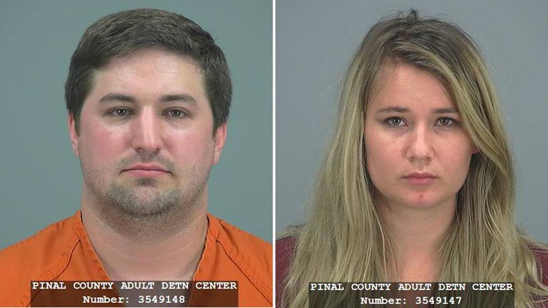 Brent and Brianna Daley are accused of abandoning their two-year-old son to play Pokemon Go