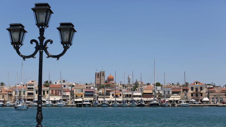 The Aegina sea front