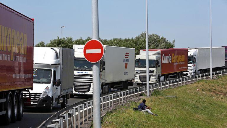 UK Trade Lorries