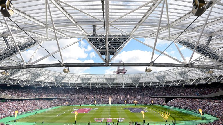 Supporters were treated to fireworks as West Ham marked the official opening of their new London Stadium with a friendly against Juventus