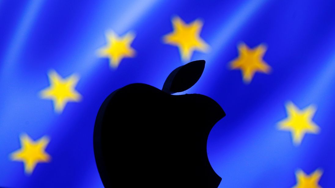 "The European Commission has labelled Apple's operations in Ireland a ""sham"""