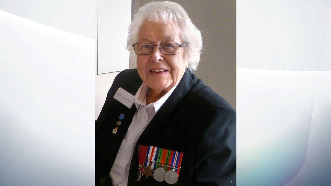 Second World War veteran Eileen Younghusband