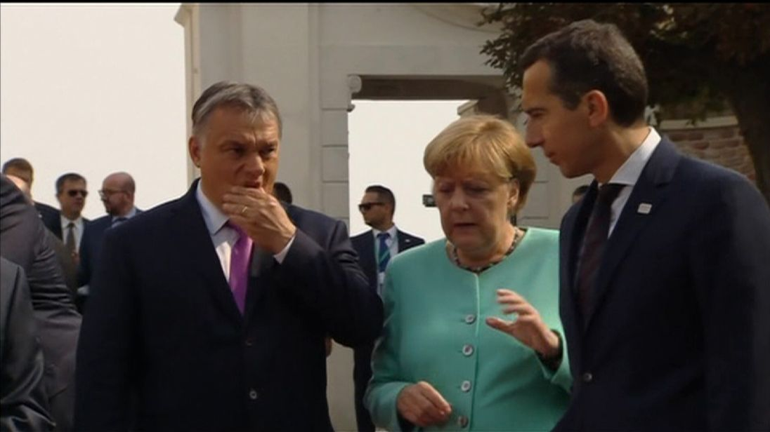 EU leaders at the summit in Bratislava