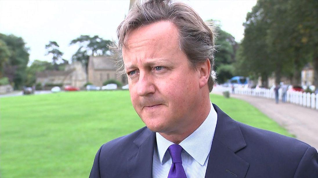 David Cameron steps down as an MP
