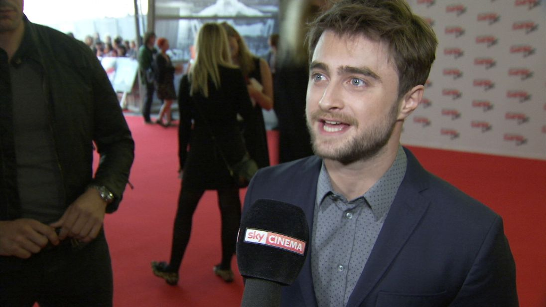 Daniel Radcliffe discusses Donald Trump