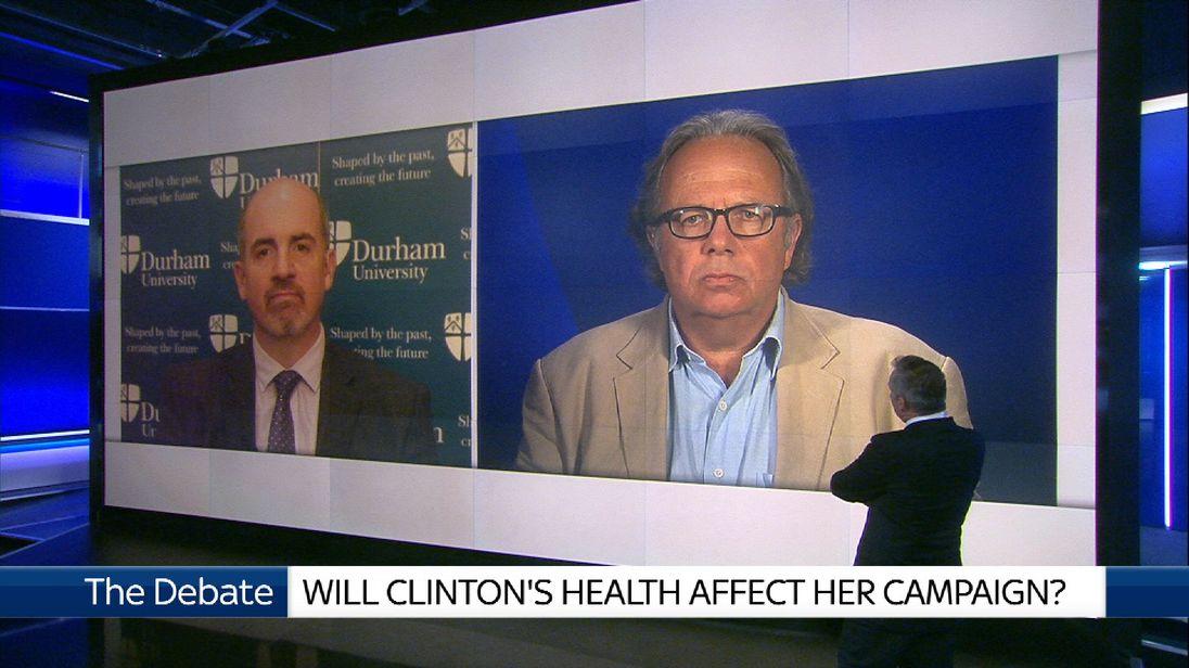 Hillary Clinton fainting debate