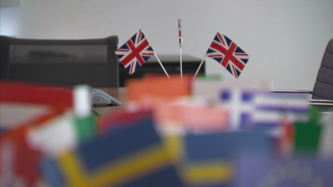 The Union Jack Used In Trade Negotiations