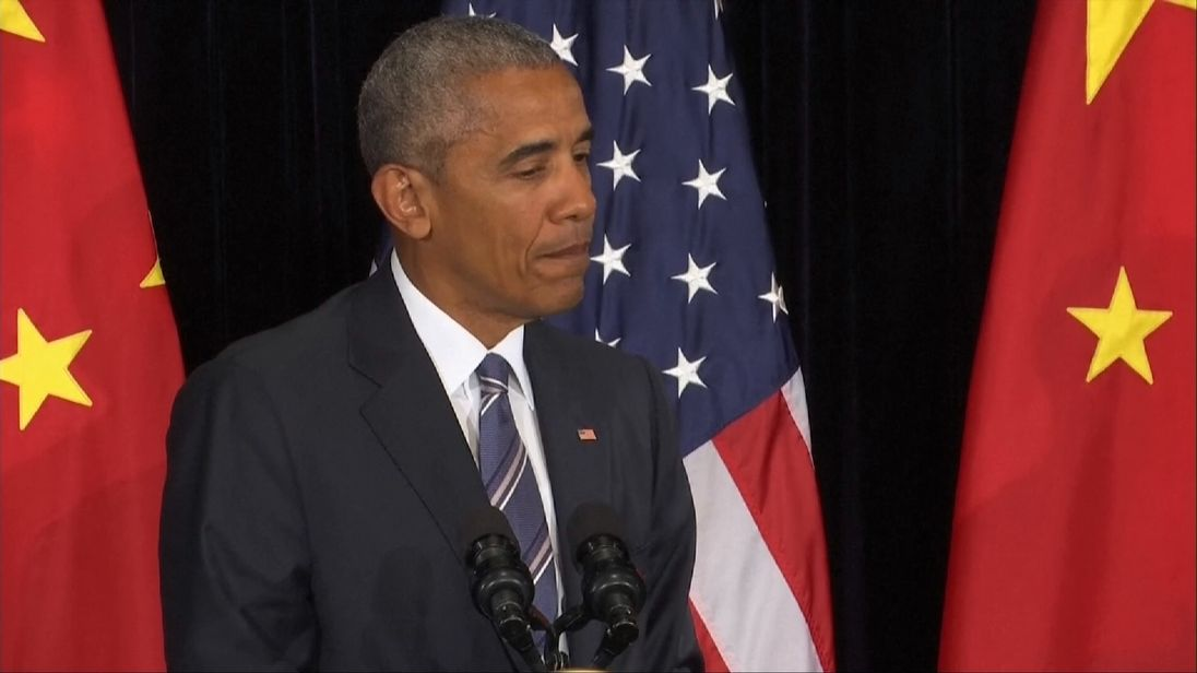 President Obama reacts to comments by the Philippine President