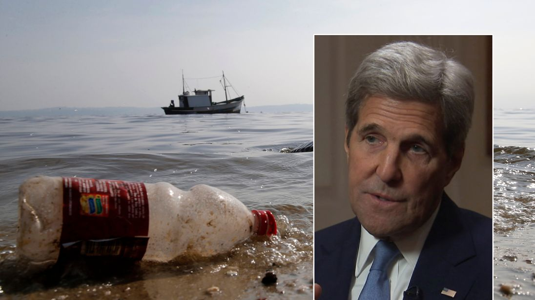John Kerry says the oceans are a global threat