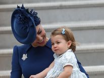 It is Charlotte's first official Royal tour
