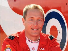 Flt Lt Sean Cunningham died after the incident at RAF Scampton
