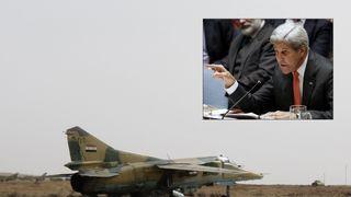 John Kerry Syria composite