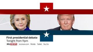 The US presidential debate