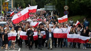 Silent march held in Harlow after Polish mans dies in suspected 'hate crime' attack