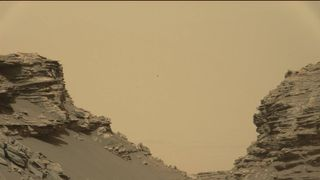 NASA scientists say the images give them a better understanding of the formarion of the landscape on Mars