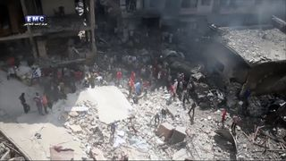 Dozens of people have been killed in Idlib by airstrikes