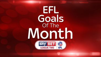 League Two Goal of the Month - August