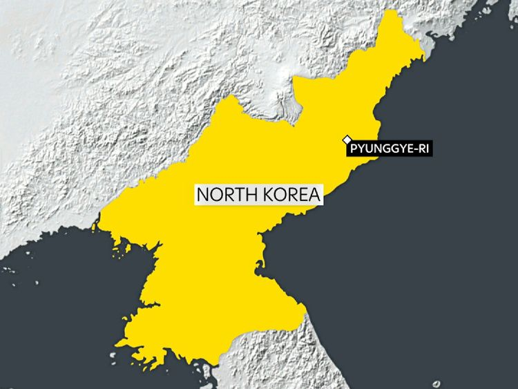 The 5.3-magnitude tremors were reported near the Pyunggye-ri nuclear test site
