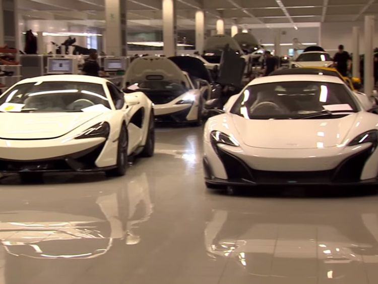 McLaren, the supercar manufacturer, is understood to have been approached by Apple