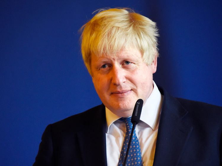 Mr Johnson will spend two days in Turkey