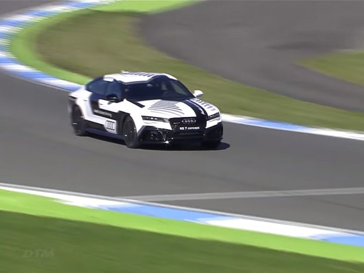 Audi's RS7 piloted driving concept car