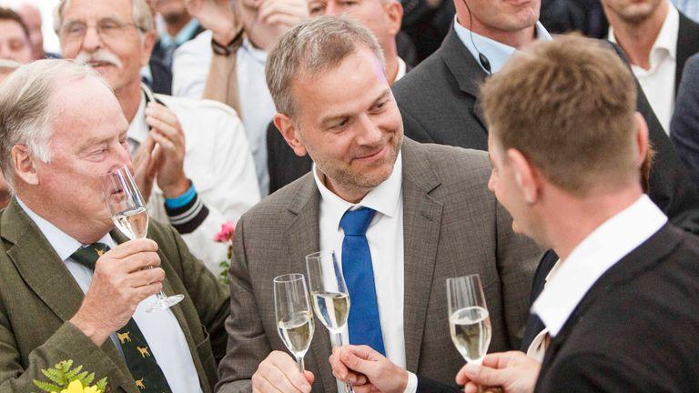 Local AfD leader Leif-Erik Holm