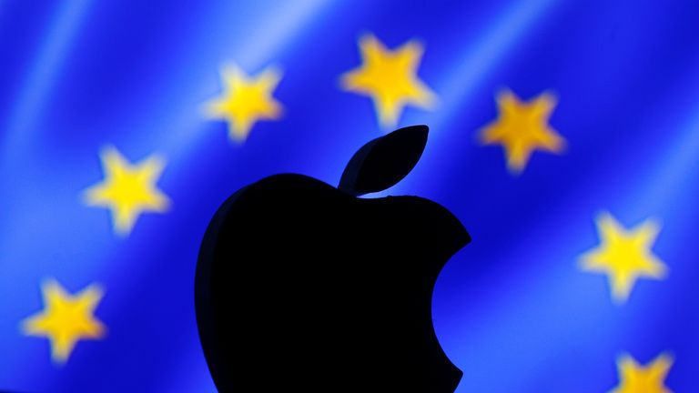 """The European Commission has labelled Apple's operations in Ireland a """"sham"""""""