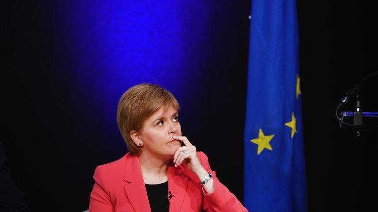 Nicola Sturgeon has linked austerity to Brexit