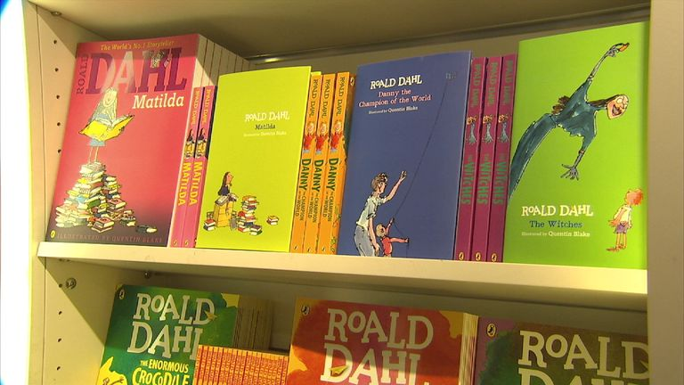 Roald Dahl's children's books continue to fly off the shelves - decades after they were written
