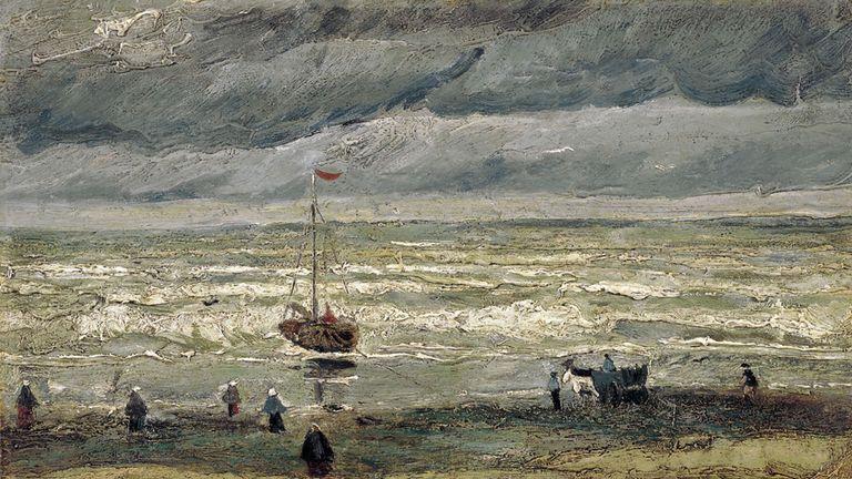 Vincent van Gogh's 'View of the Sea at Scheveningen'