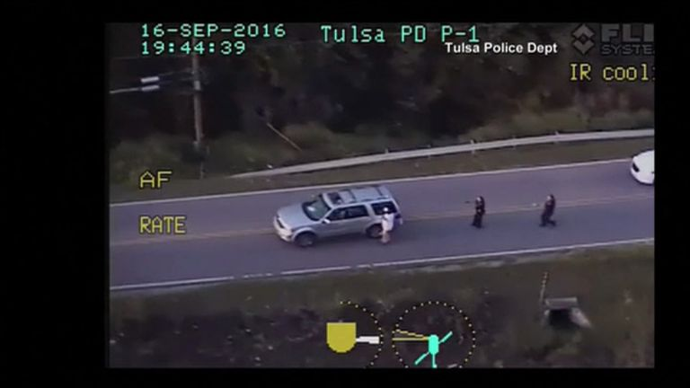 Terence Crutcher was tasered before being shot