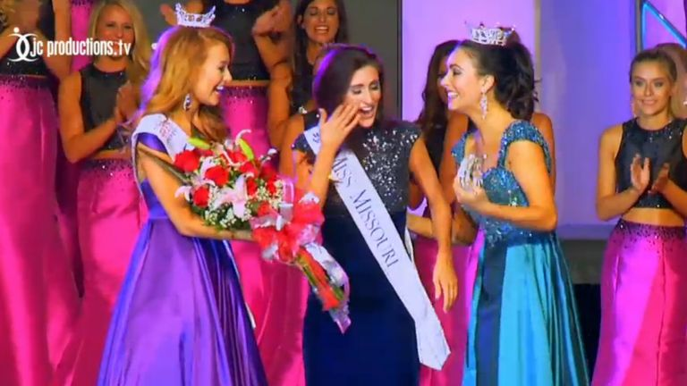 Miss America's first openly gay contestant Erin O'Flaherty wins Miss Missouri