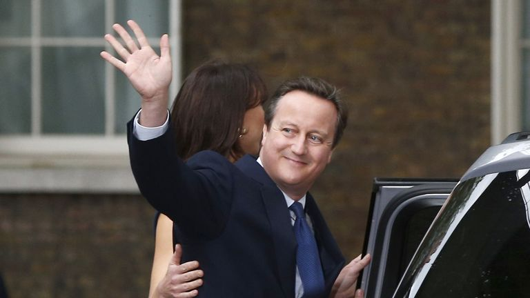 David Cameron won a majority of more than 25,000 at the last election