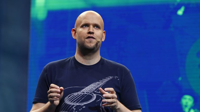 Spotify's chief executive, Daniel Ek, says the music giant will be in Japan for the long haul