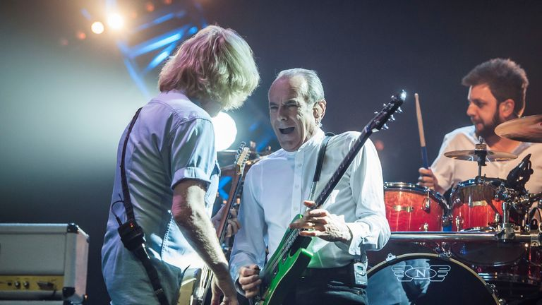 Francis Rossi is now rockin'  all over the world without Rick Parfitt