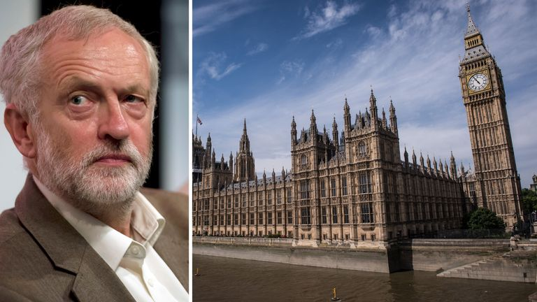 Jeremy Corbyn's Islington North constituency could disappear under plans to redraw boundaries