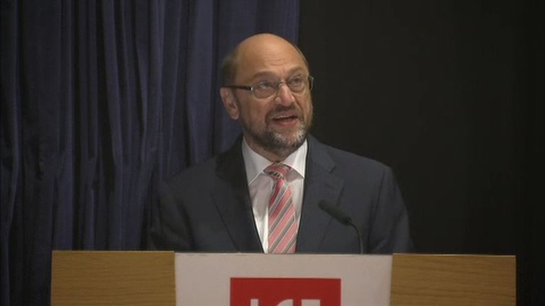 EU President Martin Schulz says the UK must trigger Article 50 before it can start Brexit negotiations