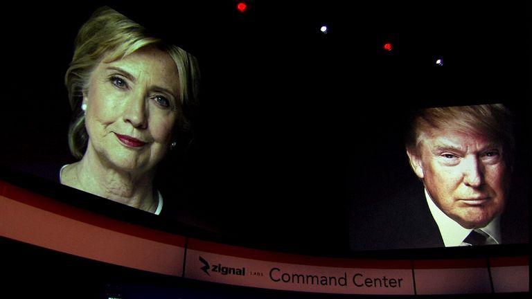 Clinton and Trump will go head-to-head