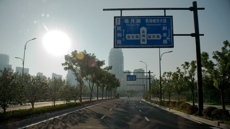 The streets of Hangzhou are all but empty ahead of the summit