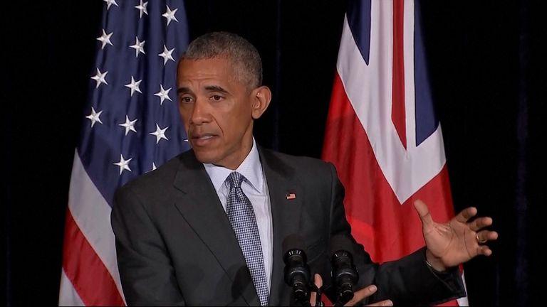 Barack Obama: I never said Britain would be punished