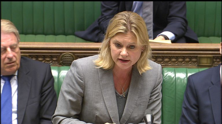 Justine Greening says she is open to ideas about grammar schools