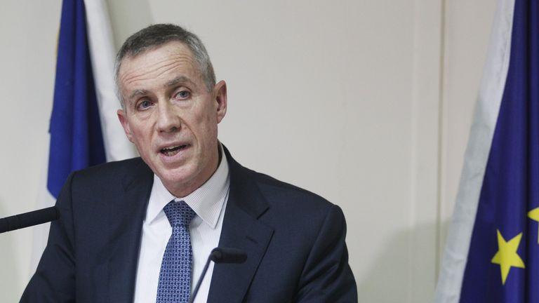 Paris prosecutor Francois Molins issued a terror warning earlier this week