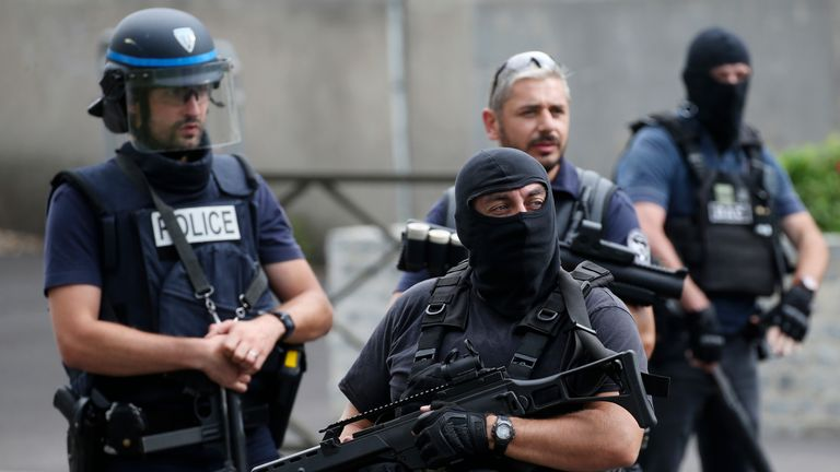 France says it's facing a threat from some 15,000 homegrown radicals