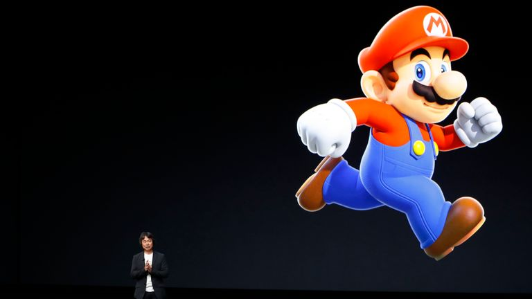 Mario creator Shigeru Miyamoto announced the mobile game at Apple's iPhone 7 launch