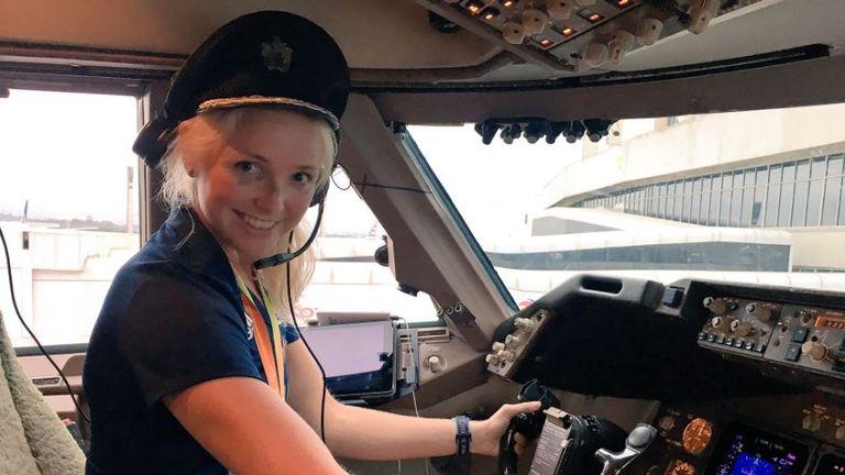 Pamela Relph takes the controls. Pic: @ParalymplicsGB