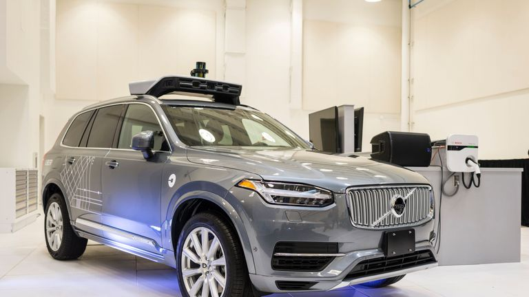 Volvo has been working with Uber on driverless technology